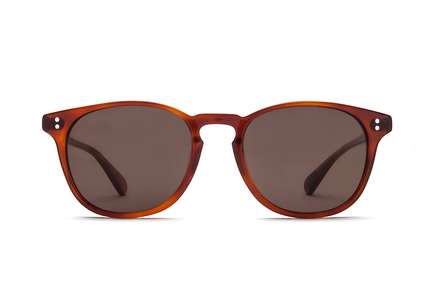 Rocket Eyewear Company P3 Classic Sunglasses Amber Tortoise with Brown polarized lenses