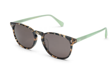 Rocket MTO P3 Classic Jaggery Tortoise & Jade with Brown Polarized Lenses (Tortoise Returns)