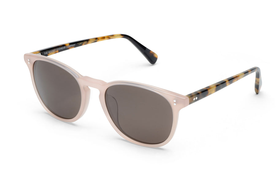 Rocket MTO P3 Classic Dusty Pink & Fawn Tortoise with Brown Polarized Lenses (Tortoise Returns)