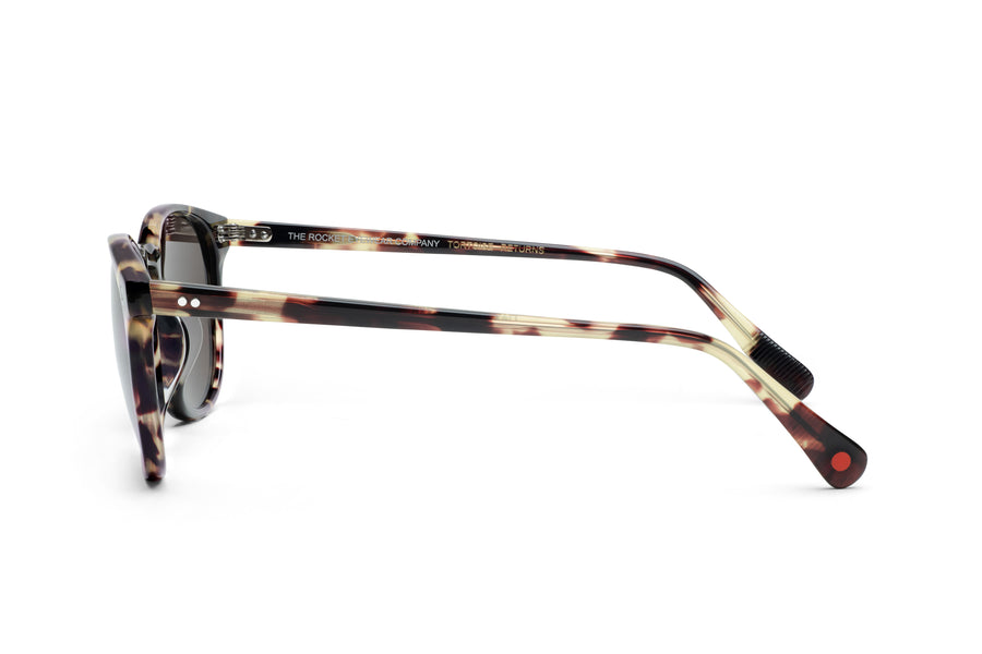 Rocket MTO P3 Classic Walnut Tortoise with Brown Polarized Lenses (Tortoise Returns)
