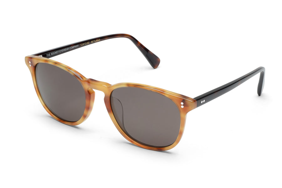 Rocket MTO P3 Classic Honeyed Tortoise & Treacle with Brown Polarized Lenses (Tortoise Returns)