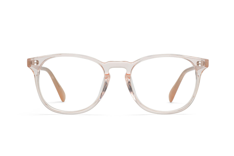 Rocket MTO P3 Classic Rose-Tinted Crystal & Blush Glasses (Crystal Strikes Back)