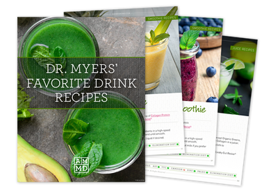 Free eBook: Dr. Myers' Favorite Drink Recipes