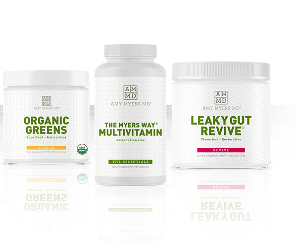 Organic Greens, Multivitamin, Leaky Gut Revive