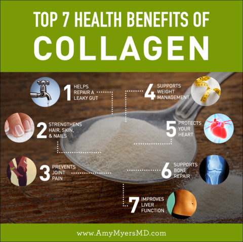 Top health benefits of collagen protein