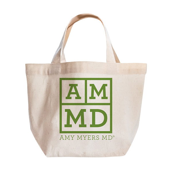 Canvas tote bag bulk with AMMD logo