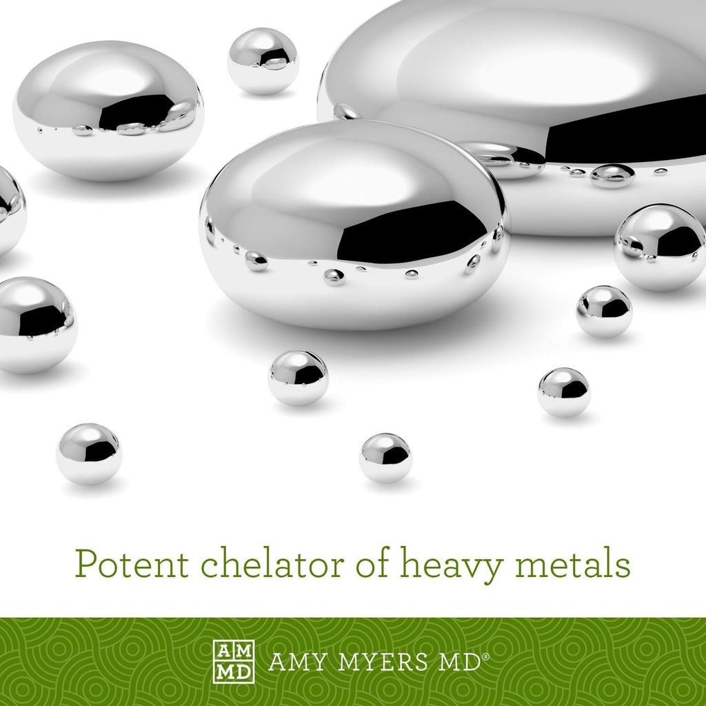 Acetyl-Glutathione - Heavy Metals Chelator - Amy Myers MD