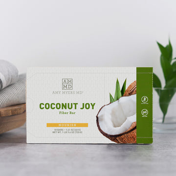 Coconut Joy Fiber Bars - 1 Case (18 bars)