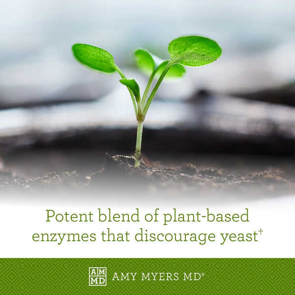 A young plant - plant based enzymes that discourage yeast - Amy Myers MD®