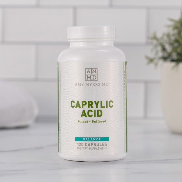 Caprylic acid with coconut oil - Amy Myers MD®