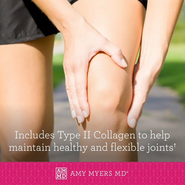Collagen helps maintain healthy joints - Knee joint - Amy Myers MD®