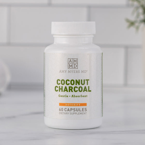 Activated coconut charcoal supplement - Amy Myers MD®