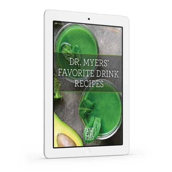 Dr. Myers' Favorite Drink Recipes eBook