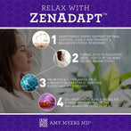 4 Ways to Relax with ZenAdapt™ Infographic - Amy Myers MD®