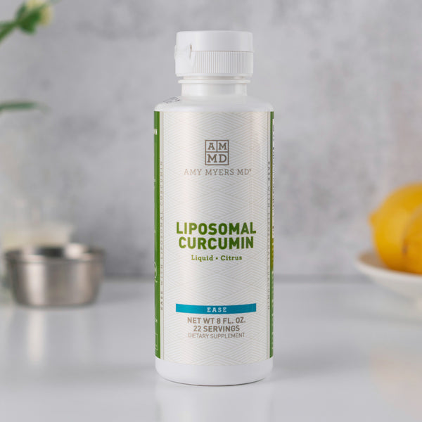 Liposomal Curcumin Liquid Supplement in a bottle - Amy Myers MD®