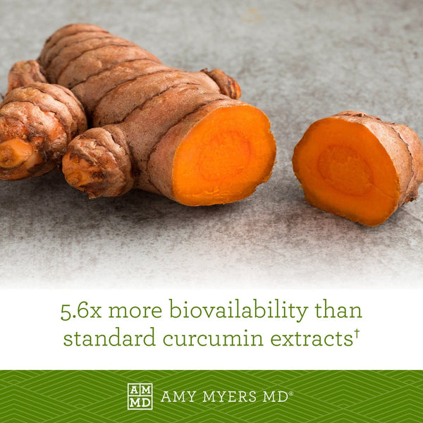 Liposomal Curcimun - more bioavailability than standard curcumin extracts - Amy Myers MD®