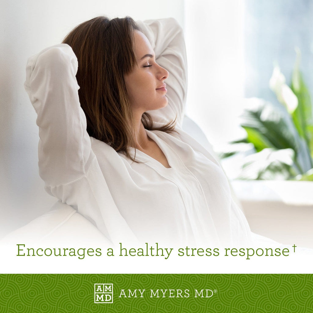 Woman relaxing - Methylation Support® encourages a healthy stress response - Amy Myers MD®