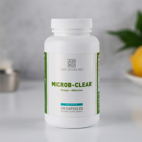 Microb clear to support microbe balance in the GI tract - Amy Myers MD®