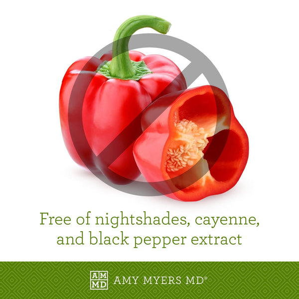 Microb-Clear® is free of nightshades, cayenne, and black pepper extract - Amy Myers MD®