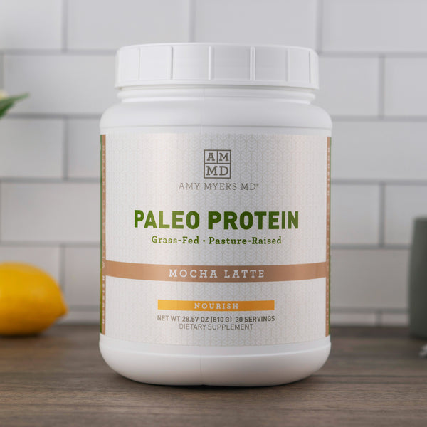 Paleo Protein powder - Mocha Latte - Amy Myers MD®