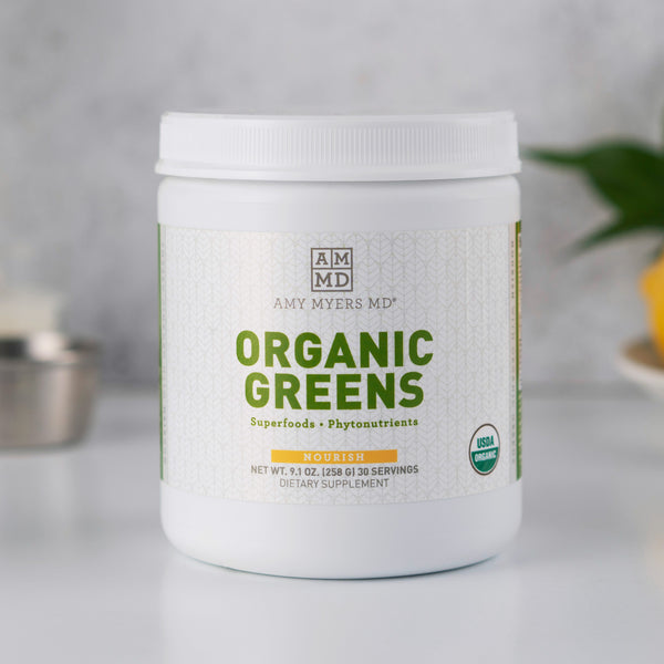 Organic greens superfood powder supplement - Amy Myers MD®