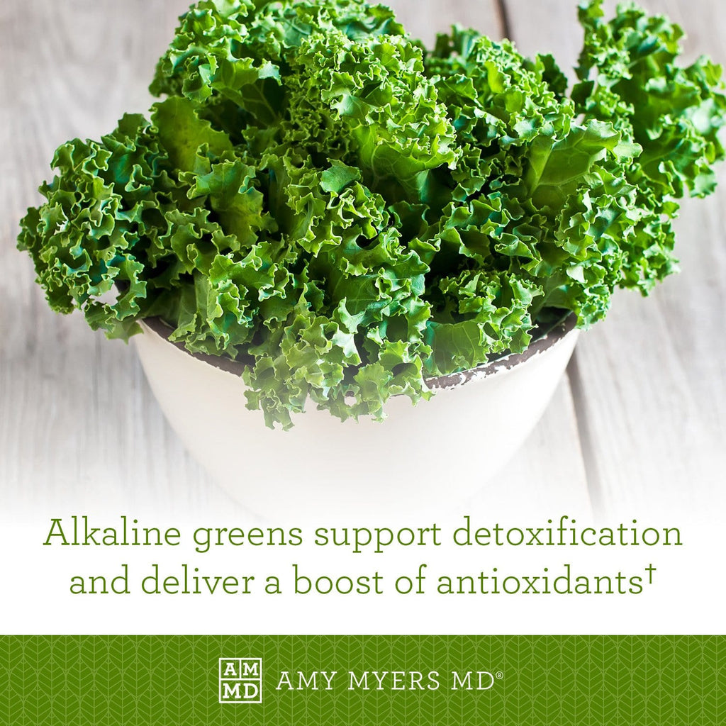 Organic Greens - Alkaline greens support detoxification and deliver a boost of antioxidants - Amy Myers MD®