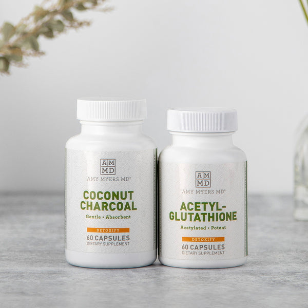 Natural Recovery Kit - Coconut Charcoal - Acetyl-Glutthione - Amy Myers MD®