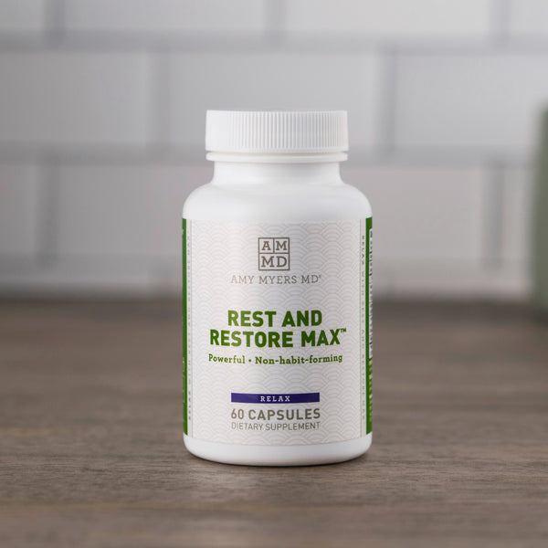 Rest and Restore MAX™ Natural Sleep Support Supplement - Amy Myers MD®