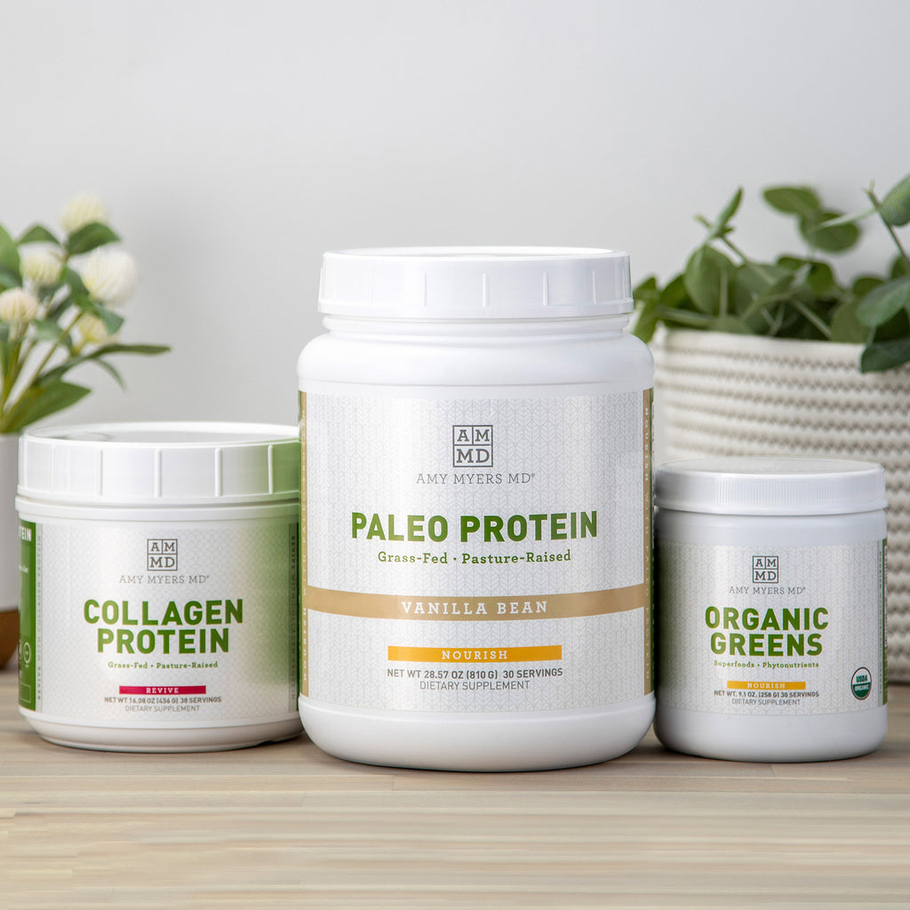Dr. Amy Myers Ultra Smoothie Kit - Paleo Protein, Collagen Protein, and Organic Greens - Amy Myers MD®