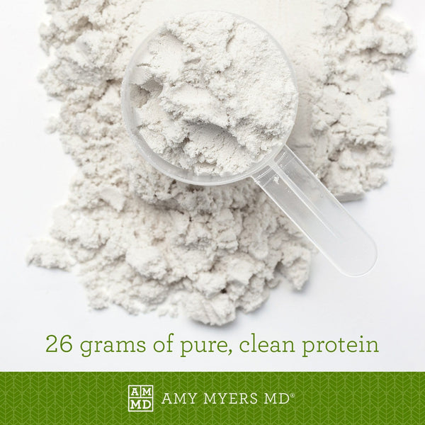 Paleo Protein powder and cup - Unflavored - 21 grams of pure, clean protein - Amy Myers MD®