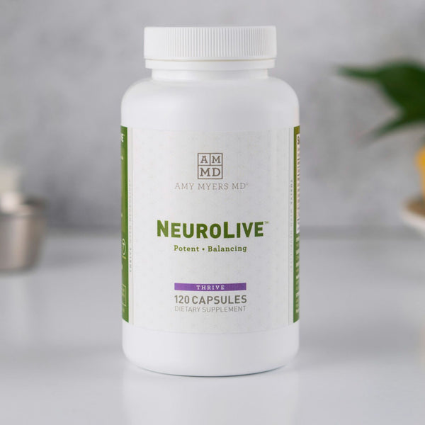 NeuroLive supplement facts - Amy Myers MD®