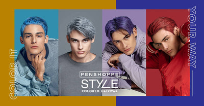 Color It Your Way with the Penshoppe Style Colored Hair Wax!