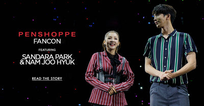 Penshoppe Fan Con featuring Sandara Park and Nam Joo Hyuk