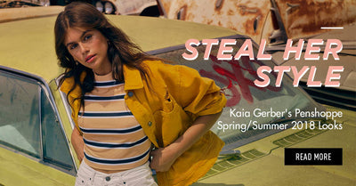 Steal Her Style: Kaia Gerber's Penshoppe Spring/Summer 2018 Looks