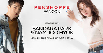 How Can I Score Passes To The Penshoppe FanCon Featuring Sandara Park and Nam Joo Hyuk?