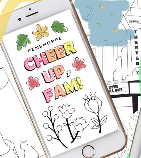 19 Cute & ~Free~ Coloring Cards You Will Want To Send ASAP
