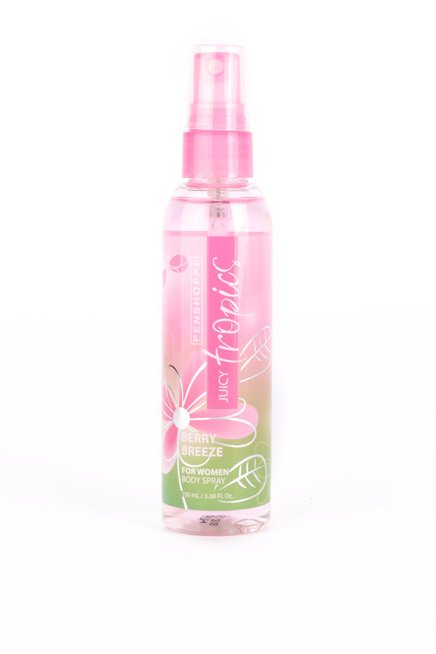 Penshoppe Juicy Tropics Berry Breeze Body Spray For Women 100ML