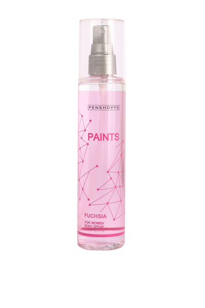 Penshoppe Paints Fuchsia Body Spray For Women 150ML