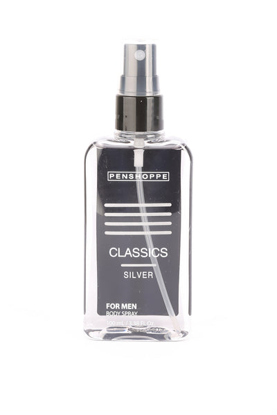Penshoppe Classics Silver Body Spray For Men 100ML