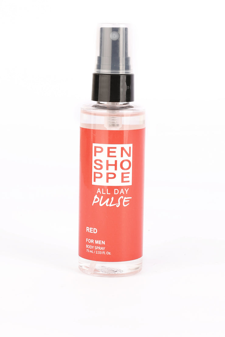 Penshoppe All Day Pulse Red Body Spray For Men 75ML