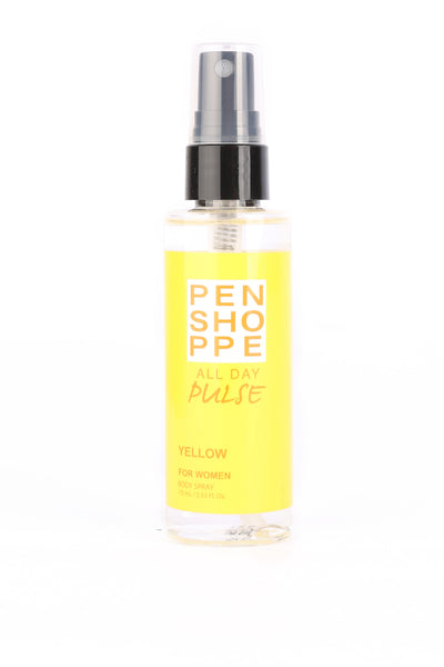 Penshoppe All Day Pulse Yellow Body Spray For Women 75ML