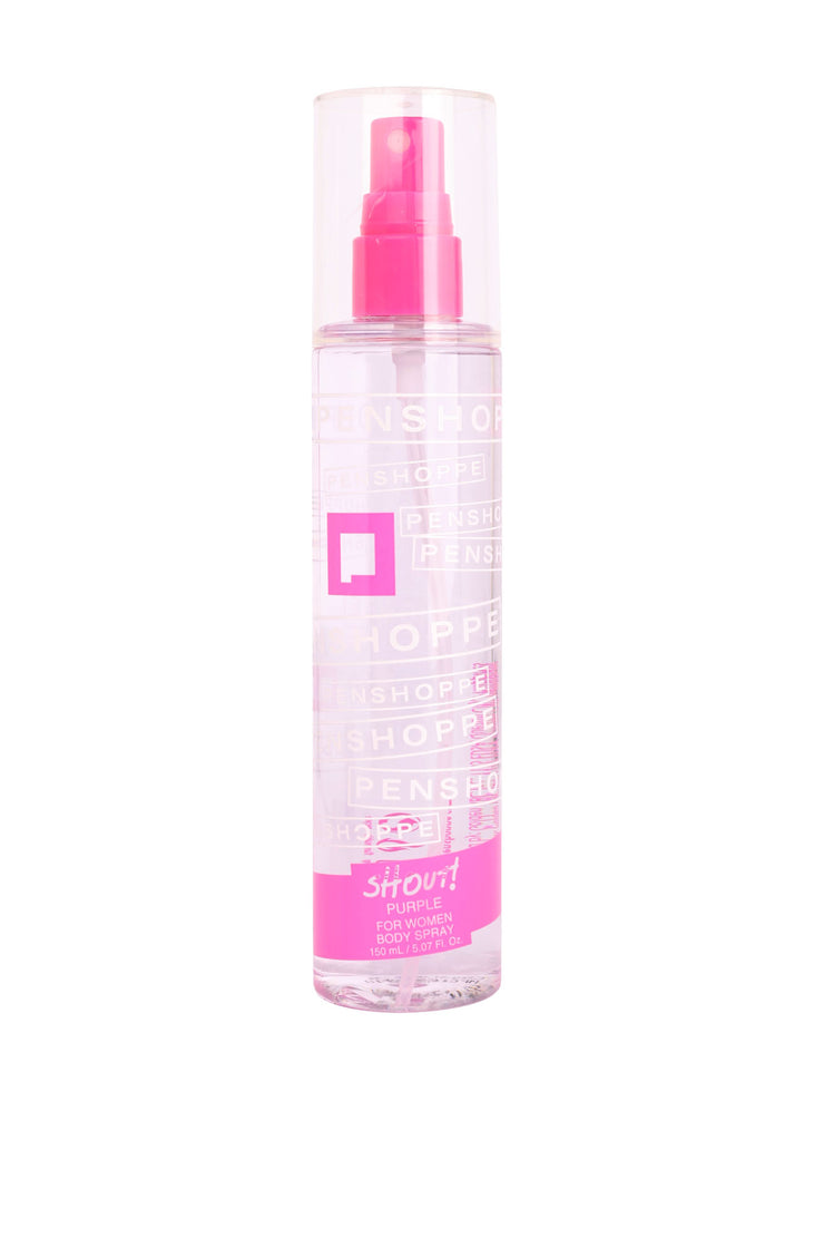 Shout Purple Body Spray For Women 150ML