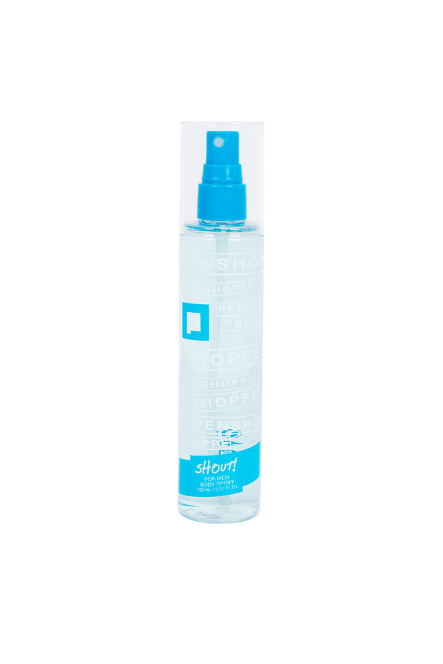 Shout Blue Body Spray For Men 150ML