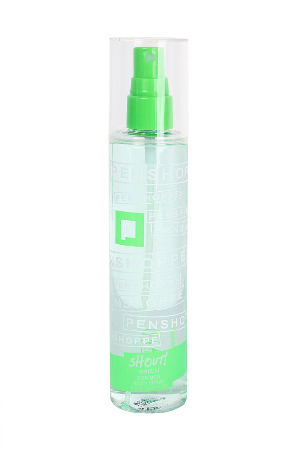 Penshoppe Shout Green Body Spray For Men 150ML