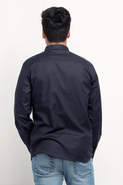 Oxford Shirt With Pocket Detail