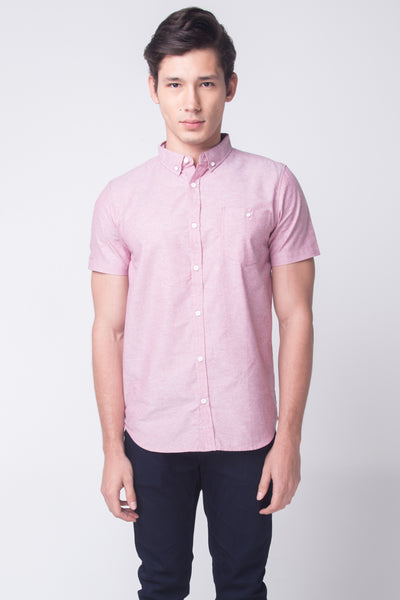 Oxford Shirt With Button-Down Collar