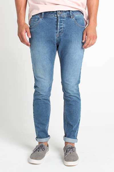 Skinny Fit 5-Pocket Jeans With Button-Fly