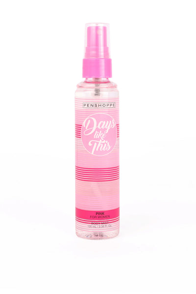 Penshoppe Days Like This Pink Body Mist For Women 100ML