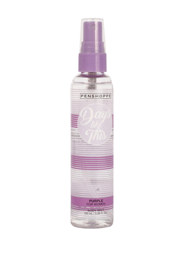 Days Like This Purple Body Spray for Women 100ML
