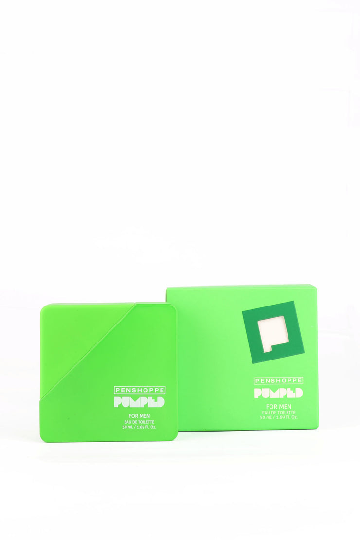 Pumped Green Eau De Toilette For Men 50ML